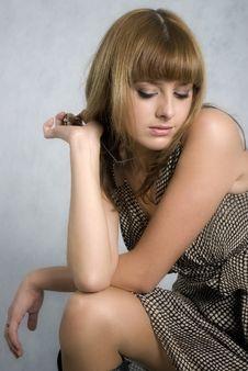 Free Stylish Girl Royalty Free Stock Photo - 6514325