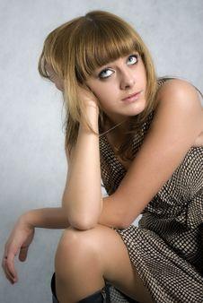 Free Stylish Girl Stock Image - 6514331