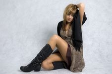 Free Stylish Girl Royalty Free Stock Image - 6514386