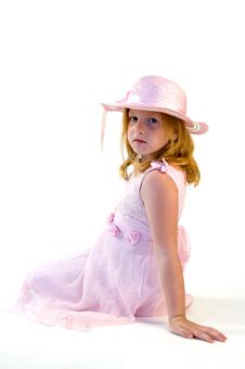 Free Little Princess Sitting Royalty Free Stock Photography - 6514387