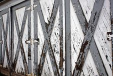 Free Weathered Doors Royalty Free Stock Images - 6515489