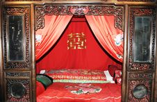 Chinese Ancient Furniture Stock Photo