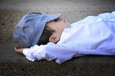 Free Sleeping Boy Stock Image - 6516801