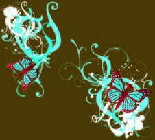 Free Grungy Butterflies Royalty Free Stock Image - 6516986