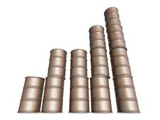 Free Barrel Graph Stock Photo - 6517030
