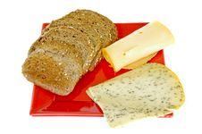 Free Bread And Cheese Stock Photography - 6517062
