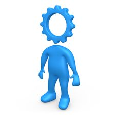 Free Cog Person Stock Photography - 6517192