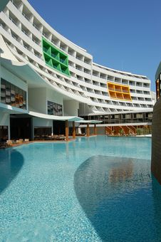 Free Modern Turkish Hotel Stock Image - 6517741