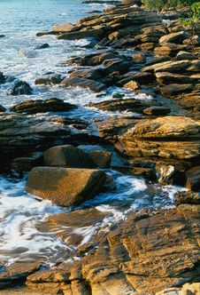 Free Sea And Stone Royalty Free Stock Images - 6518039