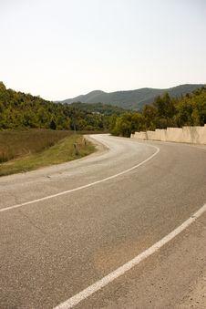 Free Mountain Road Royalty Free Stock Photos - 6518148