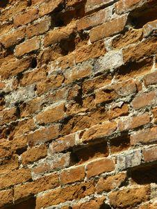 Free Old Brick Wall Royalty Free Stock Image - 6518196