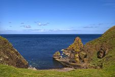 Free Pettico Wick, St Abbs Head, Berwickshire, Scotland Stock Photos - 6518293