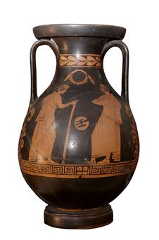Free Ancient Greek Amphora Isolated Stock Image - 6518451