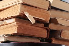 Free Old Books Stock Photo - 6518810