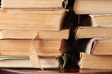 Free Old Books Stock Photo - 6518830
