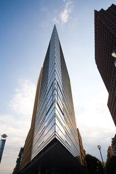 Modern Buildings At Potsdamer Platz In Berlin Stock Photography