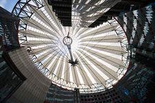 Futuristic Roof - Berlin Royalty Free Stock Photo