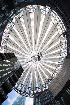 Futuristic Roof - Berlin Royalty Free Stock Photos