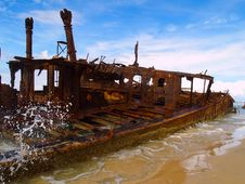 Free The Maheno Wreck Stock Photos - 6519613