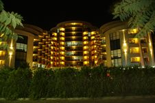 Free Night Hotel Royalty Free Stock Photo - 6519695