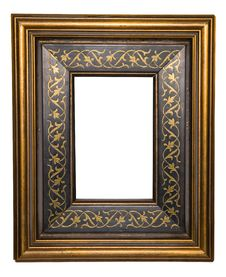 Old Wooden Frame Royalty Free Stock Images