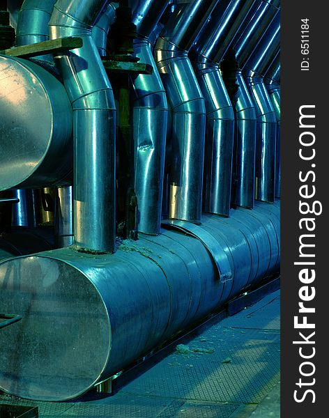 Pipes, tubes, machinery and steam turbine