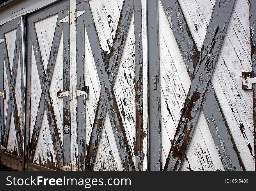 Weathered Doors