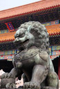 Free Palace And Stone Lion Stock Photos - 6520403