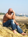 Free Thinking Strong Man Stock Photography - 6522942