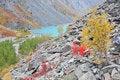 Free Turquoise Lake Royalty Free Stock Image - 6523776