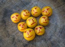 Free Yellow Plums Like Emoticons Stock Photo - 6520380