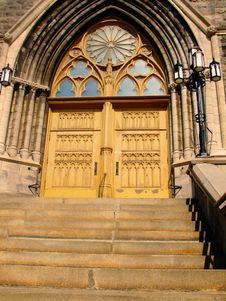 Free Church Doors 01 Royalty Free Stock Image - 6520746