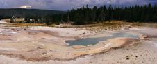 Pool In Yellowstone National Park Royalty Free Stock Photography
