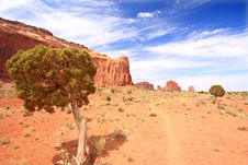 Free Monument Valley Royalty Free Stock Images - 6521099