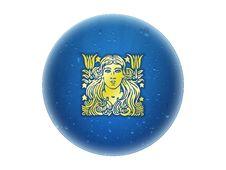 Virgo - Zodiac Golden Sign Stock Image