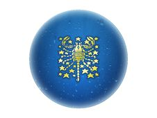Free Scorpio - Zodiac Golden Sign Stock Image - 6521121