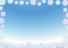 Free Snowflake Background Stock Images - 6521124