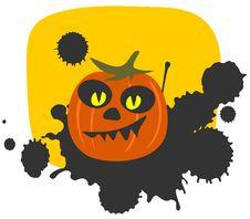 Free Halloween Pumpkin Royalty Free Stock Images - 6521549