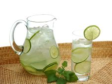 Free Lime Drink Royalty Free Stock Photo - 6521875
