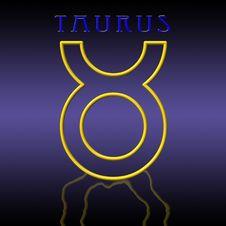 Free Taurus Card Royalty Free Stock Photos - 6522128