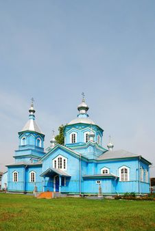 Free Wooden Church In Ukraine Stock Photography - 6522142