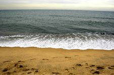 Free Sea In The Winter Royalty Free Stock Images - 6522409