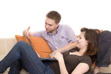 Free Happy Couple Stock Photography - 6523342