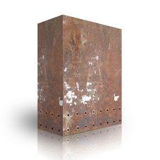 Free Metal Box Royalty Free Stock Photos - 6523418