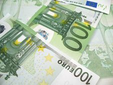Free Euro Banknotes Close-up Stock Photo - 6523900