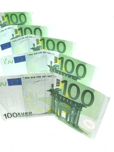 Free Euro Banknotes Royalty Free Stock Photography - 6524017