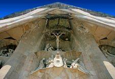 Free Detail Of Sagrada Familia Sculpture Royalty Free Stock Image - 6524086