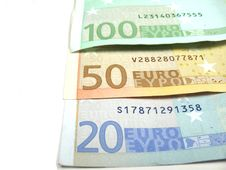 Free Part Of Euro Banknotes Royalty Free Stock Photography - 6524117