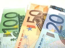 Free Euros Close-up Stock Image - 6524141