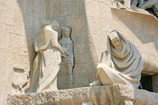 Free Detail Of Sagrada Familia Sculpture Royalty Free Stock Image - 6524176